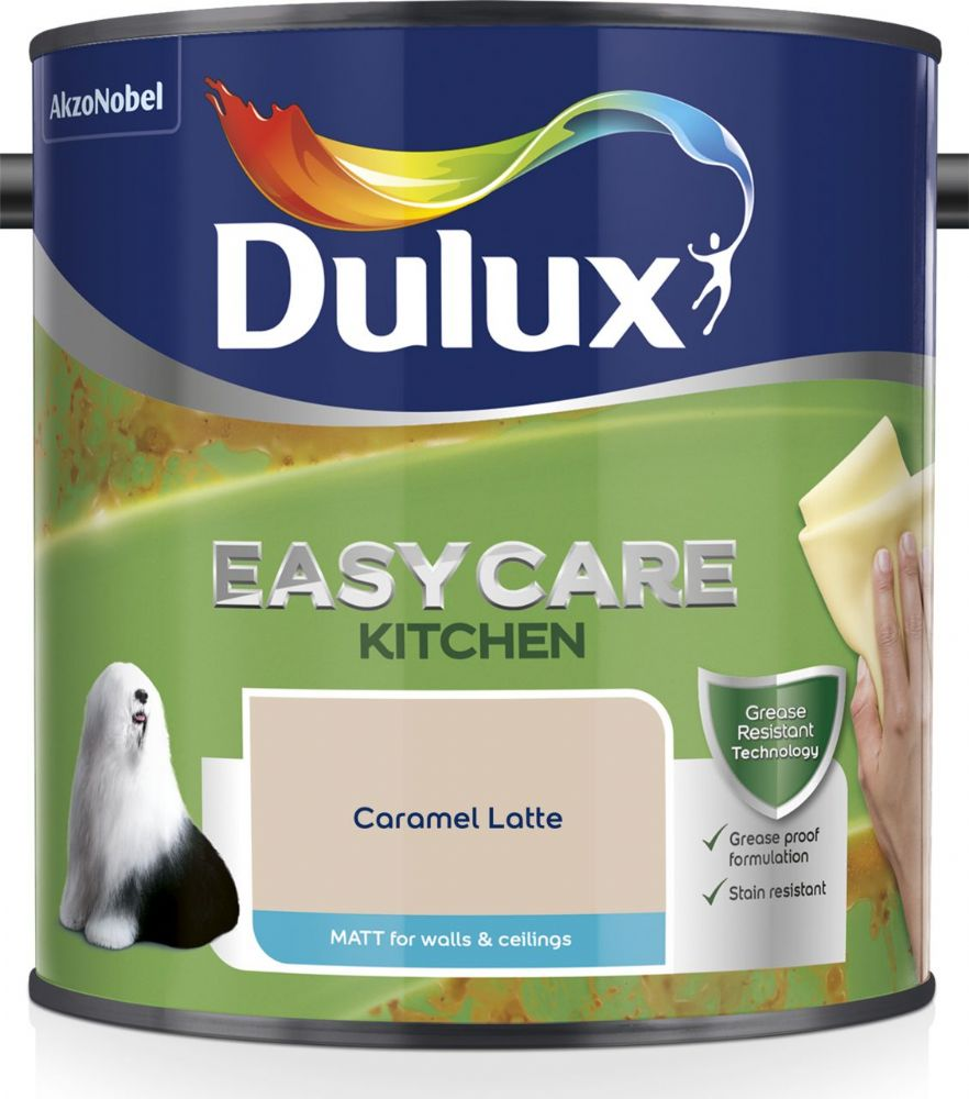 Dulux Easycare Kitchen Matt Colours 2.5L
